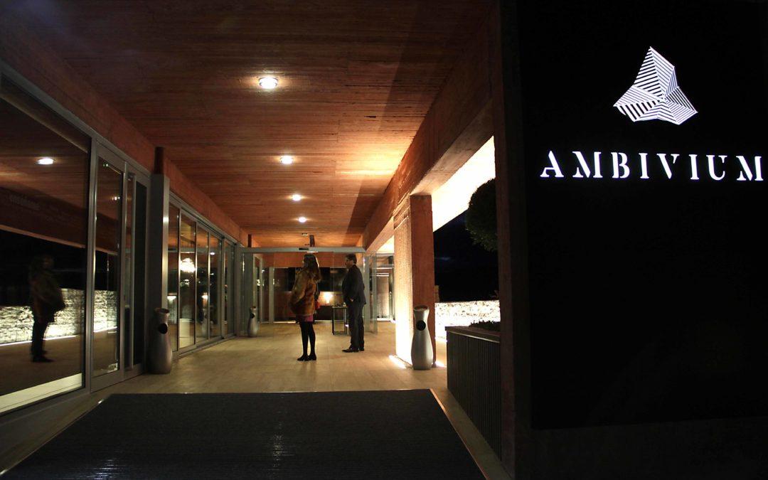 Ambivium, un restaurante de Peñafiel con estrella Michelin.